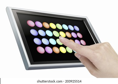 An Image of Touch Panel