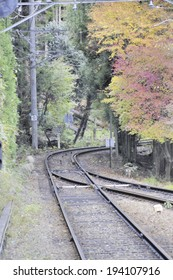 An image of Tracks in fall