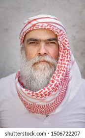 An image of a traditional arab man portrait