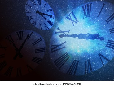 Image traveling in space and time