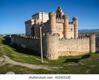 Image of Turegano castle, Castilla y Leon, Spain