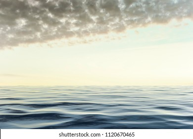 An image of a typical ocean background