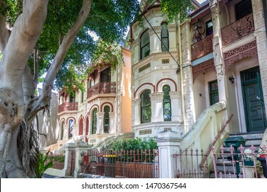 An image of a typical terrace house in Sydney Australia