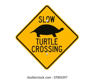 Slow Turtle Crossing >> Turtle Crossing Sign Images Stock Photos Vectors Shutterstock