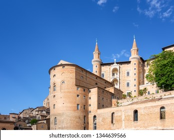 An image of Urbino Marche Italy at day time