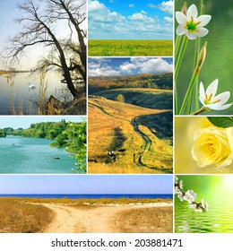 image of various beautiful landscapes