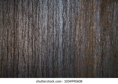 Image of of weathered steel panel wall