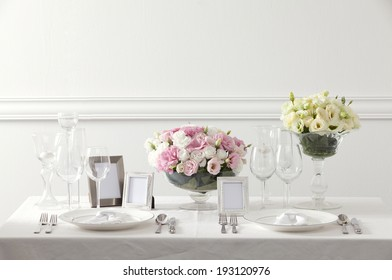 the image of wedding table