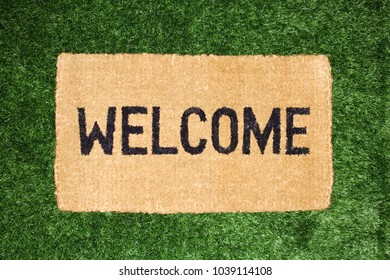 An image of a welcome mat