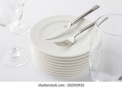 An Image of Western Tableware