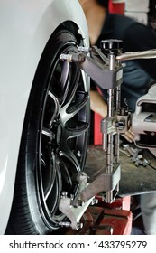 image of Wheels alignment camber