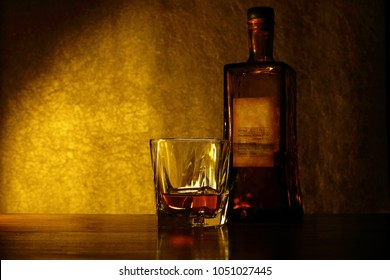 Image of whiskey, brandy, alcohol