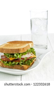 Water Sandwich Images Stock Photos Vectors Shutterstock The 'cold water sandwich' is a phenomenon that is common to most tankless water heater systems. https www shutterstock com image photo image white plate homemade ham sandwich 122332618