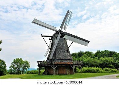 An image of a windmill