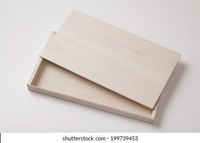 An Image of Wooden Box