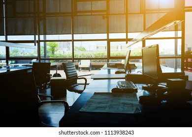 image of workplace, Modern Office Interior