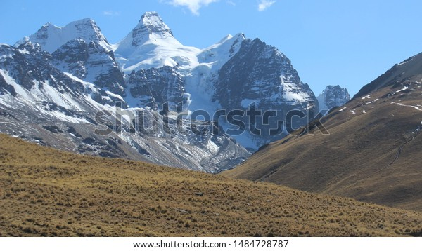Images Across Cordillera Real Bolivian Andes Stock Photo Edit Now 1484728787