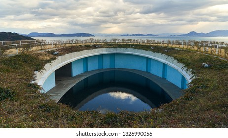 images from the island of Naoshima in Japan.