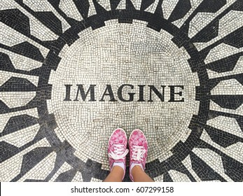 Imagine, John Lennon. Central Park, NYC.