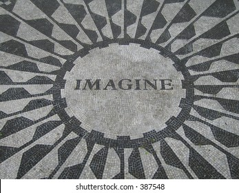 Imagine Mosaic in Central Park