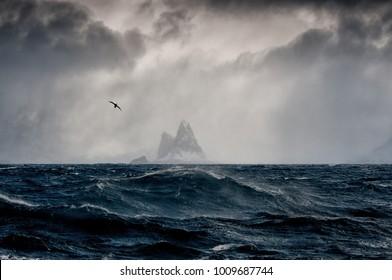 Imagine Shackleton at Elephant Island