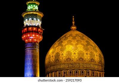 Imam Sadiq mosque, Tehran, Iran