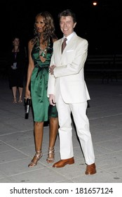 Iman, David Bowie at Vanity Fair Party for the 6th Annual Tribeca Film Festival, New York State Supreme Courthouse, New York, NY, April 24, 2007