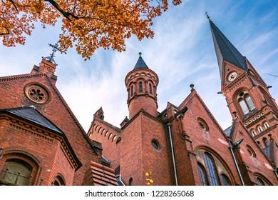 Imannuel`s church in Berlin, Germany