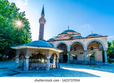 Imaret Mosque view in Afyonkarahisar City of Turkey
