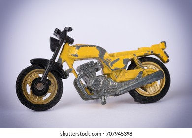 Imitation vintage motorcycle