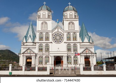 Immaculate conception cathedral in Apia, Samoa