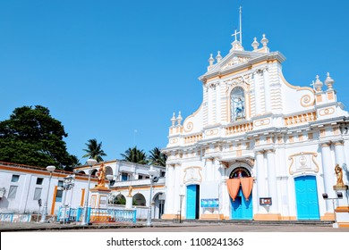 Immaculate Conception Cathedral church also known as Samba Kovil(in Tamil), Pondicherry, India