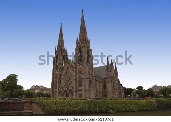 immemorial church in Strasbourg