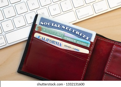 Immigrant: Social Security, Permanent Resident Card, and California Driver's License