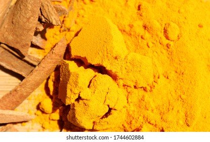 The immunity building yellow herb Turmeric.Turmeric is a member of the Curcuma botanical group, which is part of the ginger family of herbs, the Zingiberaceae. Its botanical name is Curcuma longa.