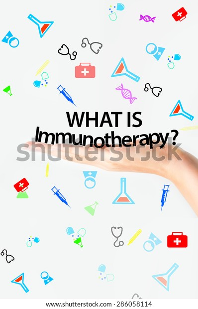 Immunotherapy Fight Cancer Treatment Stock Photo (Edit Now) 286058114