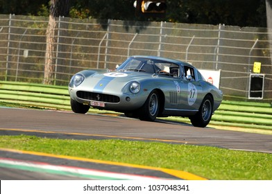 Imola Classic 22 Oct 2016 - FERRARI 275 GTB 1965 driven by Eric EVERARD, during practice on Imola Circuit, Italy.