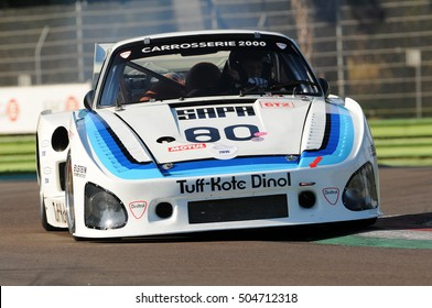 Imola Classic 22 Oct 2016 - PORSCHE 935 K3 - 1979 driven by unknown, during practice on Imola Circuit, Italy.