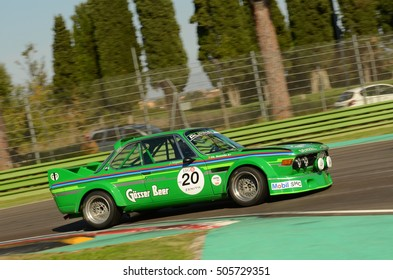 Imola Classic 22 Oct 2016 - BMW 3.0 CSL 1971 driven by unknow during practice on Imola Circuit, Italy.
