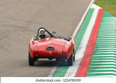 Imola Classic 26 October 2018 - MASERATI A6 GCS 1954 driven by Martin SUCARI, during practice on Imola Circuit, Italy.