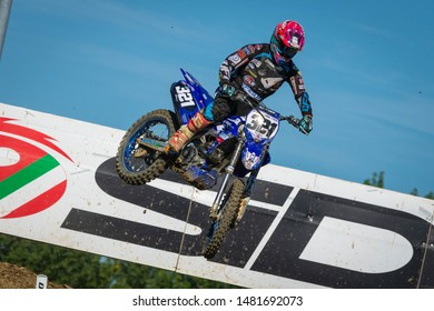 Imola, Italy, August 18 2019 321- Bernardini Samuele - Yamaha  during the MXGP of Italy MOTORI MOTOCROSS