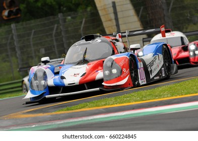 Imola, Italy May 13, 2016: GRAFF FRA M Ligier JS P3 - Nissan John Falb (USA) B Sean Rayhall (USA) G Vicente Potolicchio (VEN), in action during the ELMS Round of Imola, Italy.