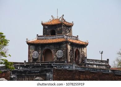 Imperial City at Hue, Vietnam