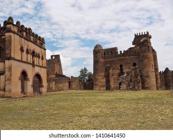 "The Imperial Palace Complex Fasil Ghebbi, called ""Camelot of Africa"", was listed in the UNESCO World Heritage List in 1979, Ethiopia"