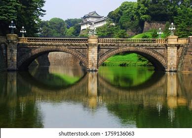 Imperial Palace Main Gate Stone Bridge