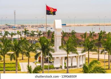 Important monument in Luanda, Angola, Africa