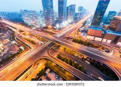 Important transportation hub in Beijing