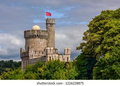 Imposing Blackrock Castle, Cork, Ireland