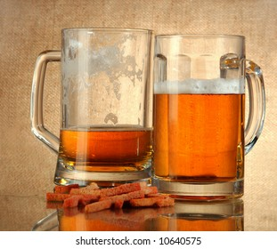 It is impossible to drink a lot of beer, it is injurious to health!
