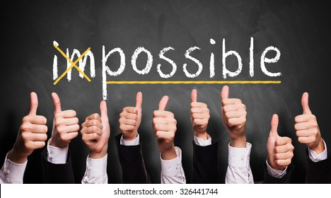 impossible turns to possible